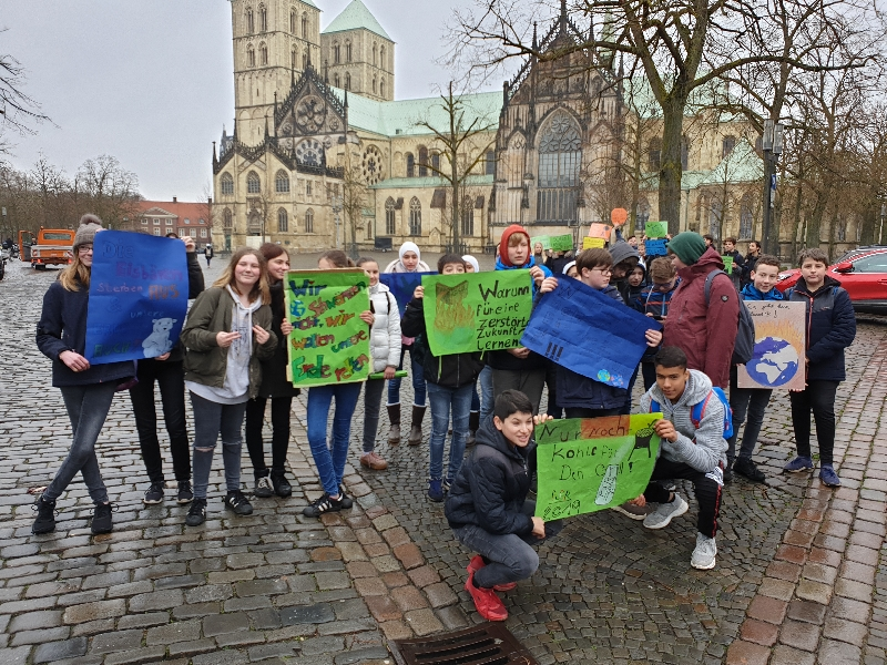 Klima demo münster